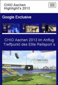 CHIO Aachen Video Highlight's 2013