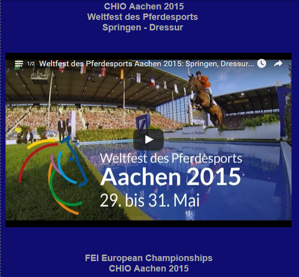 Google Exclusive.com-Royal Horse Expo-Chio Aachen-Weltfest-Pferdesport-Reitsport-Soers-Vips-People-Rolex Grand Prix-Scott Brash-springen-dressur-