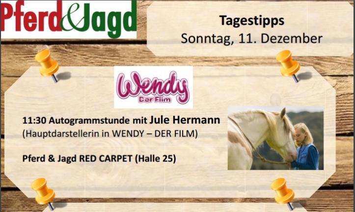 pferd-und-jagd-2016-horsejournalinternational-google-exclusive-com-besucher-info-tipp-wendy-film-autogramstunde-jule-herman